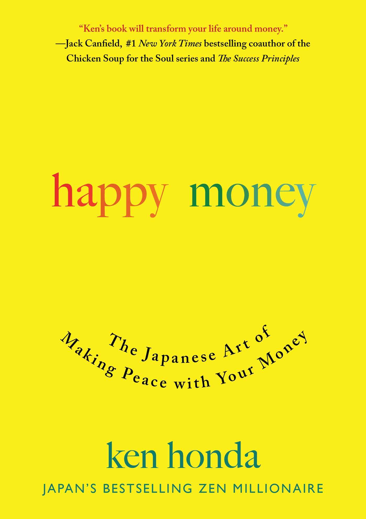 Ken Honda Happy Money cover