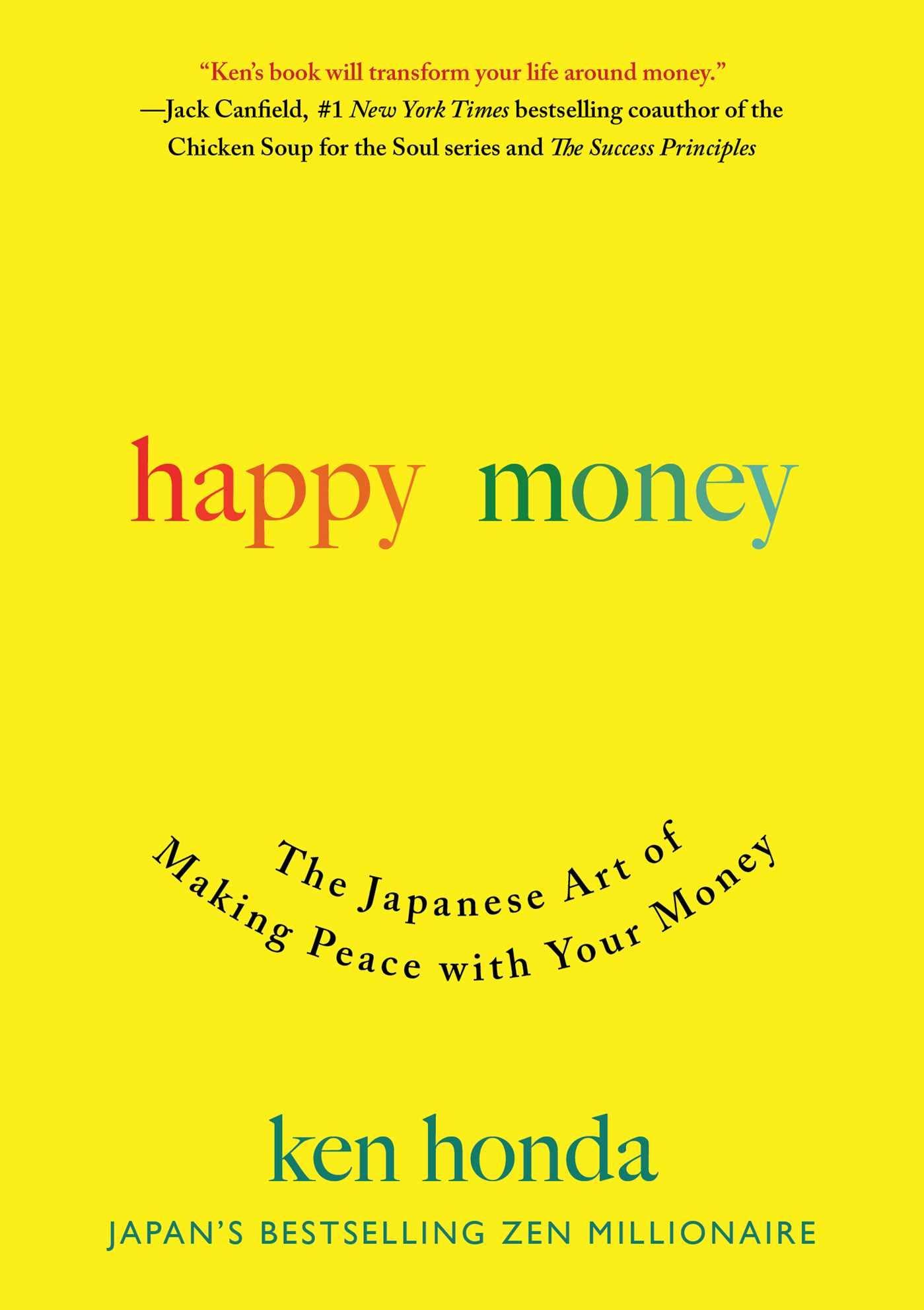 Ken Honda Happy Money cover