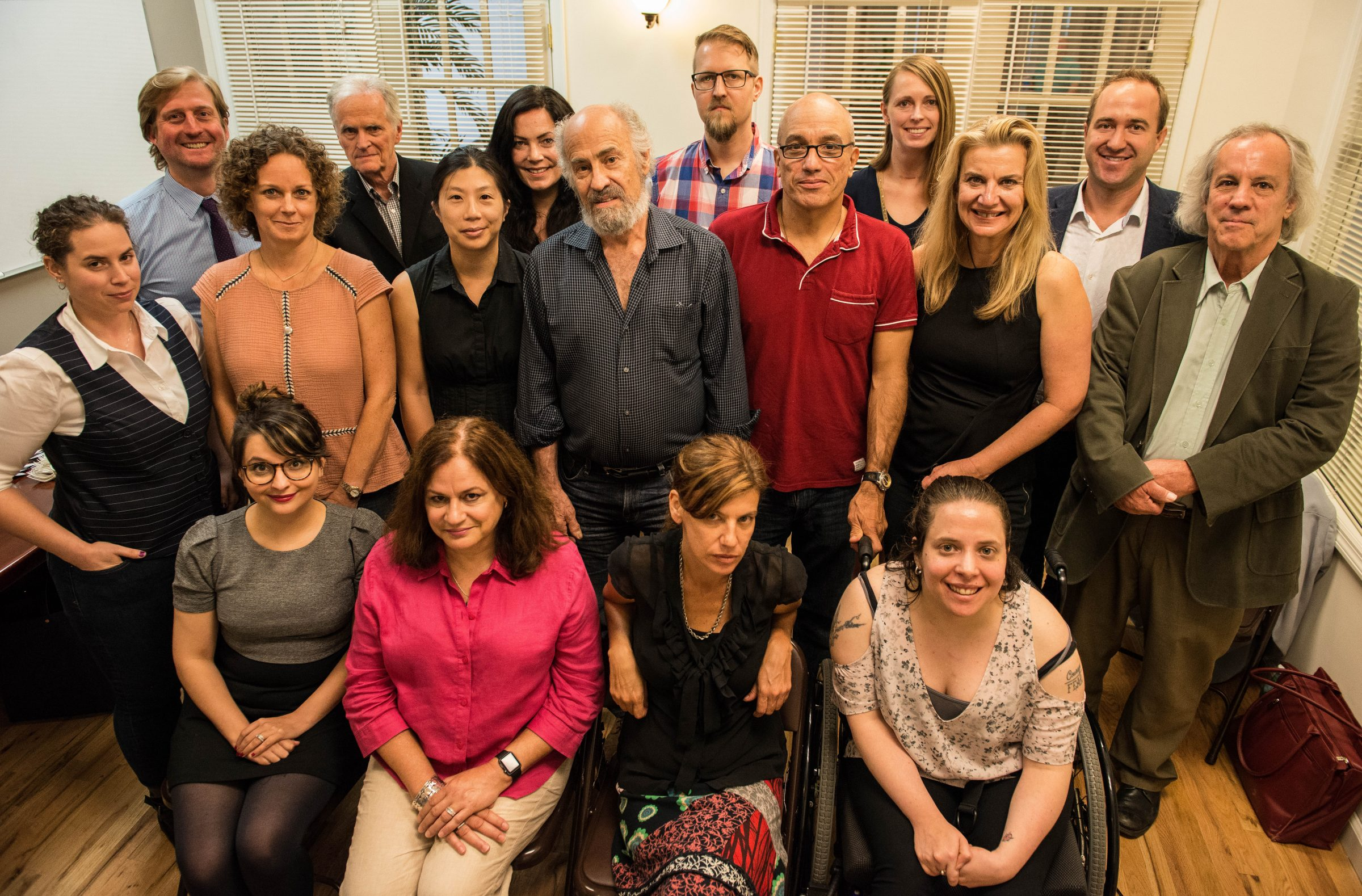 Biannual Strategy Meeting for Staff Writers and Editors, New York Office