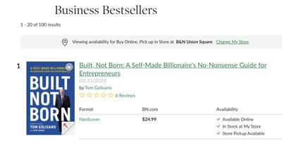 BarnesAnd Noble BestsellersList