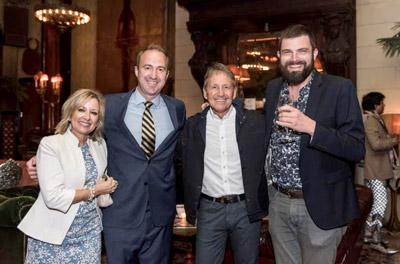 Nancy Rusk, Kevin Anderson, Ken Rusk, and John Maas of Park & Fine.